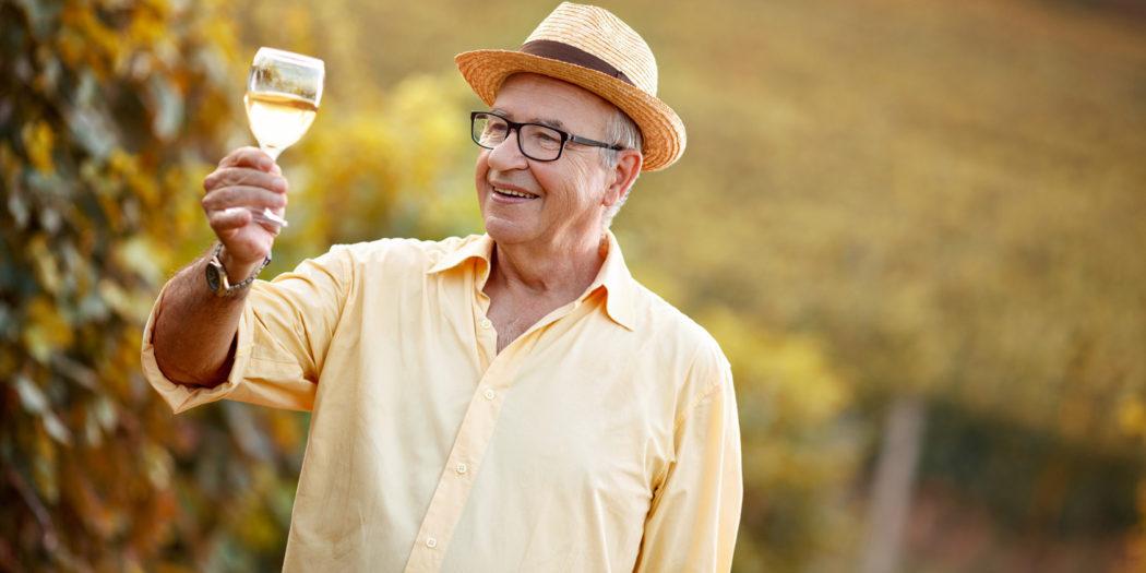 alkohol dla starszych ludzi