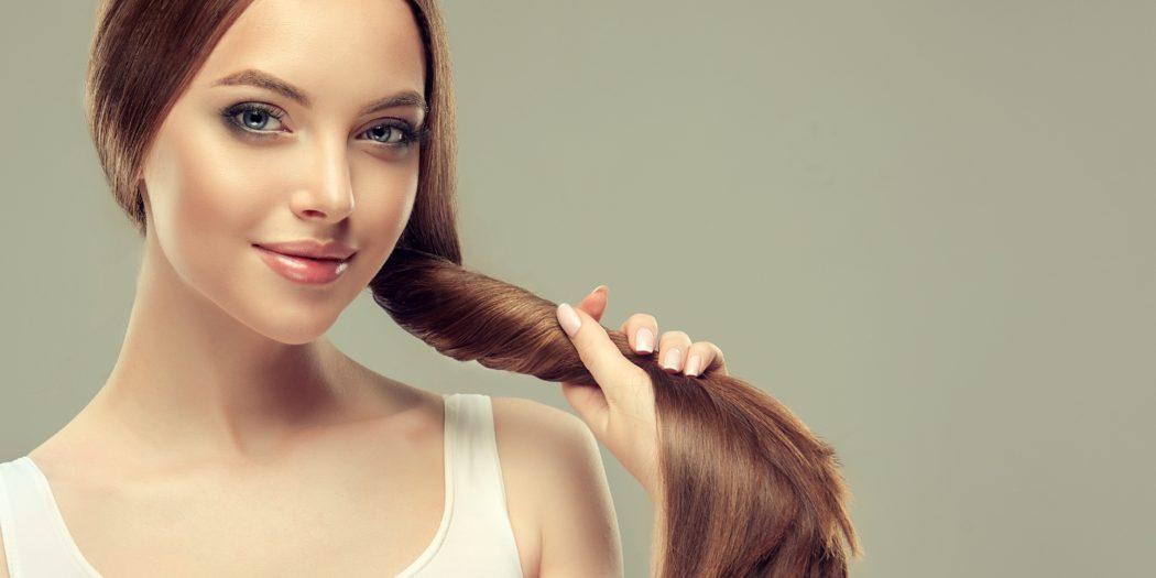 Piękne włosy bez łupieżu