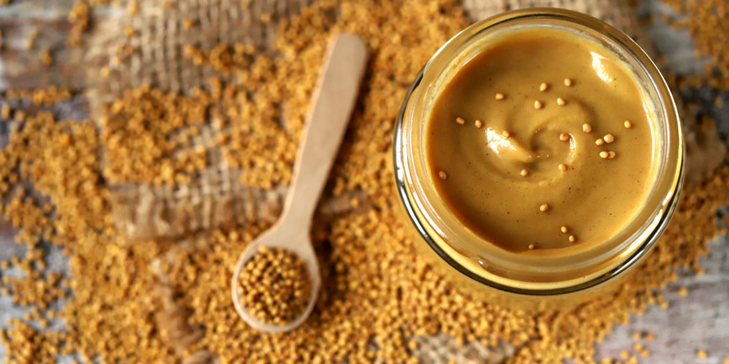 naturalna musztarda organiczna i gorczyca