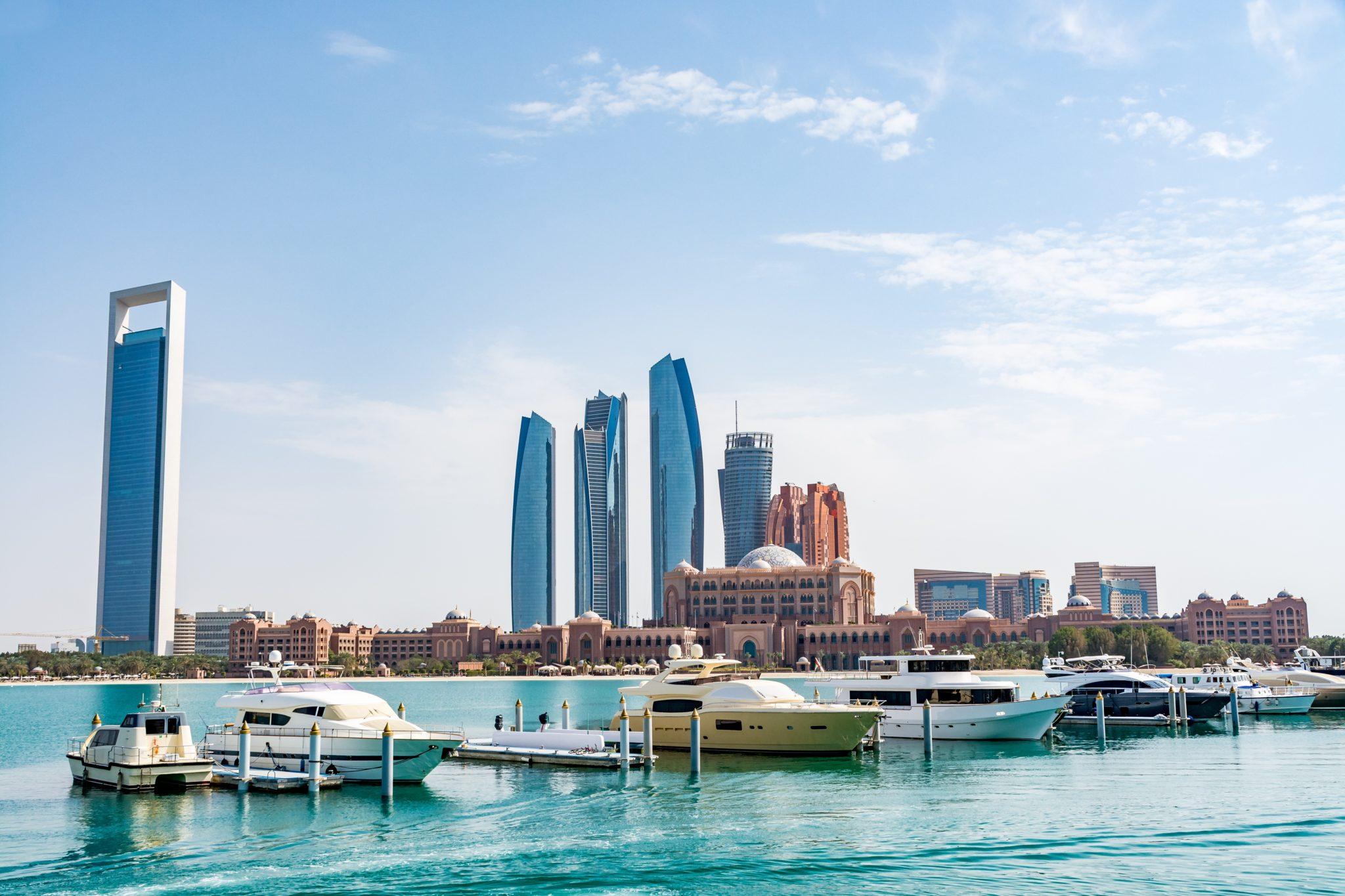 Abu Dhabi widok na hotel Emirates Palace Hotel