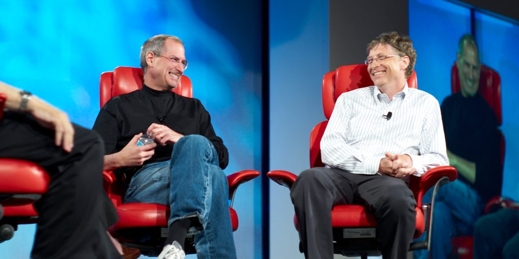 Bill Gates i Steve Jobs