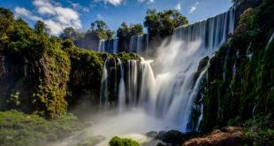 Iguazu wodospady w Argentynie