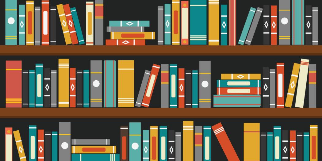 ilustracja biblioteka