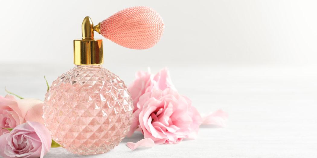 butelka na perfumy vintage