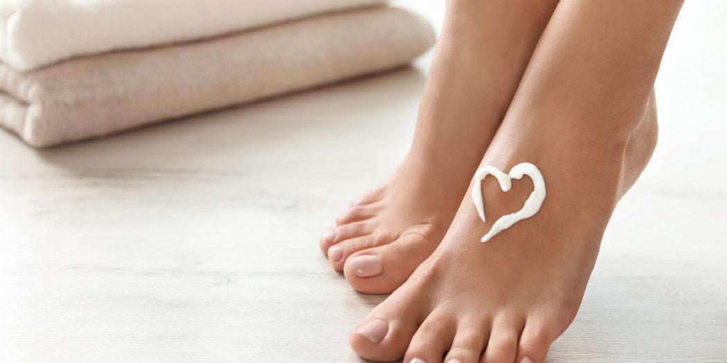 kobiece stopy krem