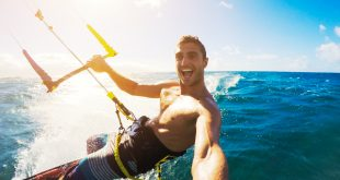 Kiteboarding, kamera sportowa