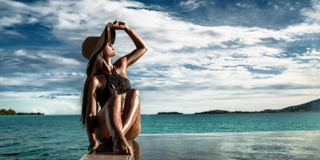 kobieta uczulenie na słońce