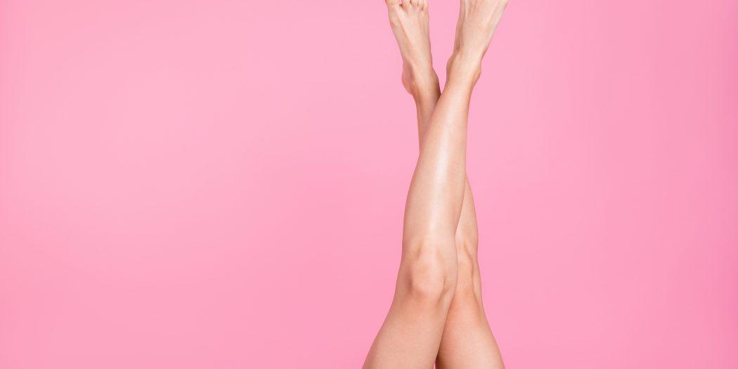 zadbane kobiece nogi