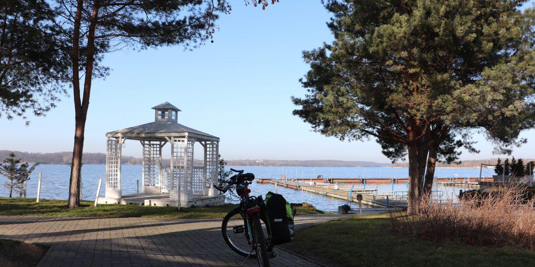 Jezioro Zegrzyńskie, trasa rowerowa